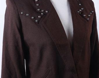 54bdf4da74 Short western jacket | Etsy