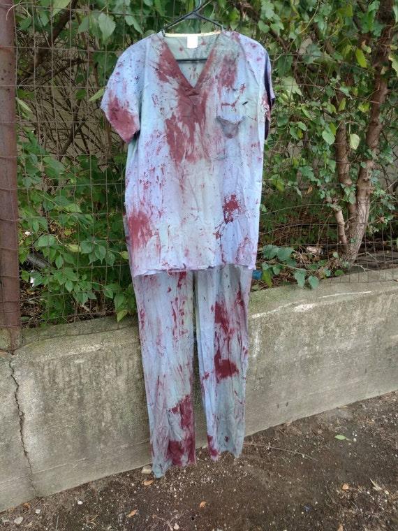 Bloody Zombie Scrubs yjEZt0OO