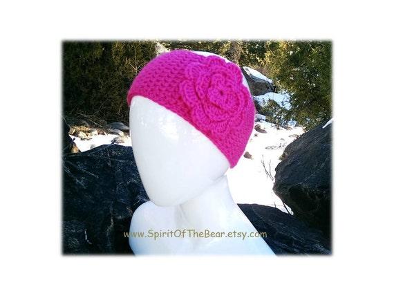 Ausverkauf Headwrap Hot Pink gehäkelt häkeln Stirnband | Etsy