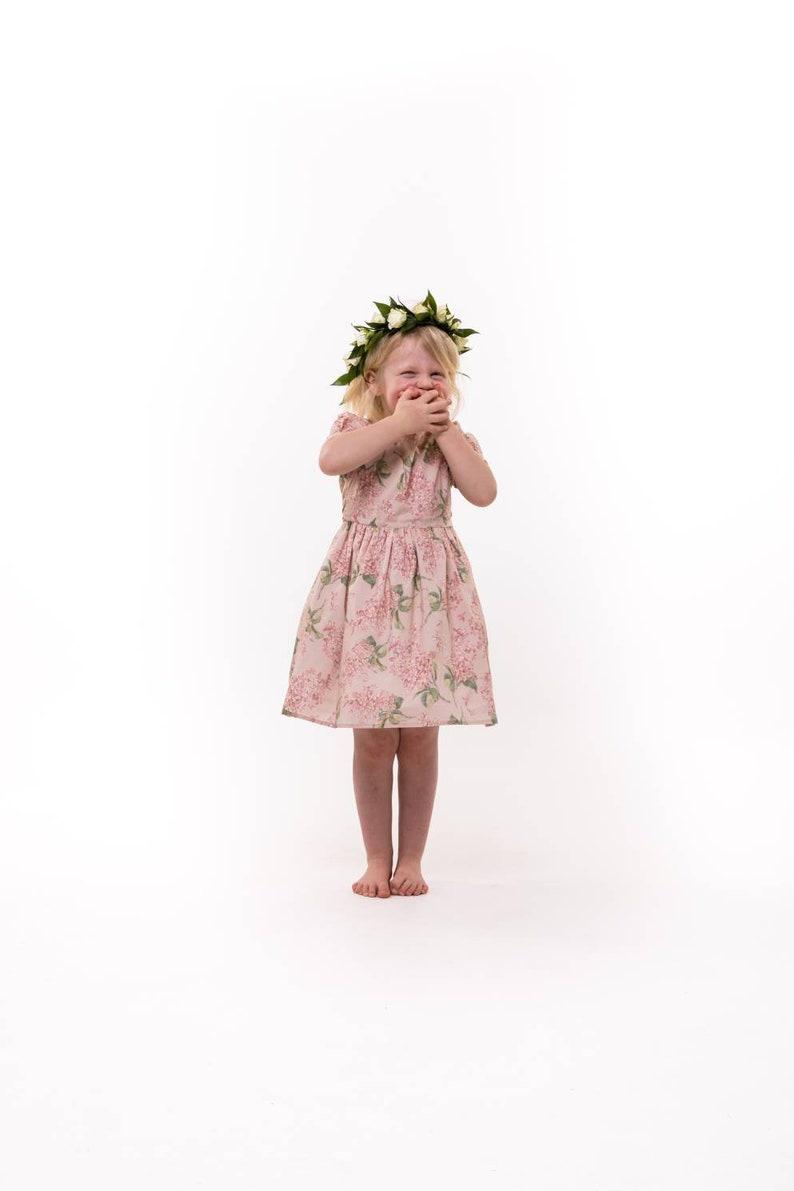 85f71b2aeaf5 Liberty girls dress flower girl dress country wedding