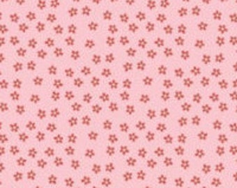 Riley Blake, My Mind's Eye, Pink Little Blossoms fabric, Bloom and Grow Collection, 1 yard C7036
