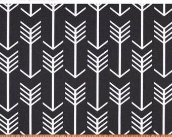 Premier Prints Arrow in Black Home Decor fabric 7 oz Cotton, 1 yard