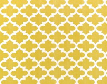 Premier Prints Fulton in Saffron Yellow 7 oz Cotton Home Decor fabric, 1 yard