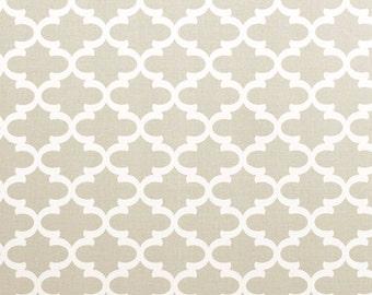 Premier Prints Fulton in French Grey 7 oz Cotton Home Decor fabric, 1 yard