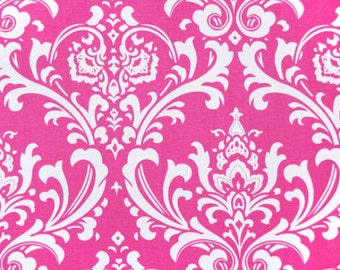 Premier Prints Ozbourne in Candy Pink Home Decor fabric, 1 yard 7 oz Cotton