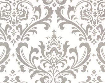 Premier Prints Traditions in Storm Twill Home Decor fabric, 1 yard
