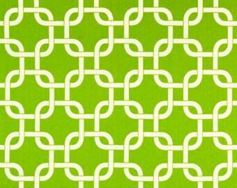Premier Prints Geometric Gotcha in Chartreuse 7 oz Cotton Home Decor fabric, 1 yard