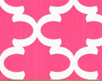 Premier Prints Fynn in Candy Pink Home Decor fabric, 7 oz Fabric 1 yard