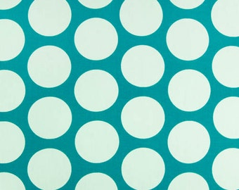 Upholstery Fabric, Premier Prints, Fabric By The Yard, Dandie Dot, Turquoise Fabric, 7 oz Cotton, Polka Dot Fabric Home Decor, FAST SHIPPING