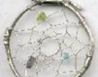 Large Dreamcatcher pendant