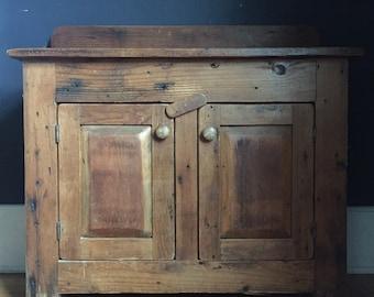 Bon Antique Primitive Cabinet