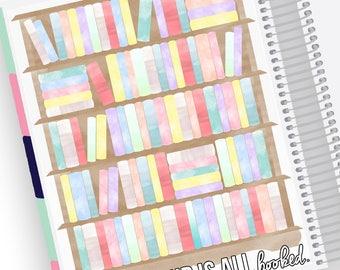 Lesen Tracker Notizen Page Kit - Sticker