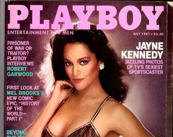 Playboy Magazine July 1981 Jayne Kennedy Heidi Sorenson FINE