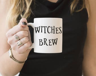 Fall Mug | Fall Coffee Mug Halloween Coffee Mug | Cute Fall Mug | Witches Brew | 2 Sizes Available | 11oz or 15oz Coffee Mugs