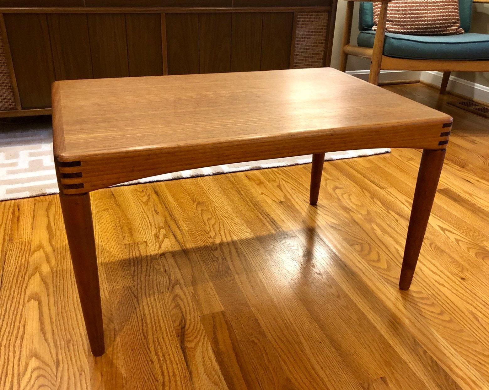 Kleine Sidetable Wit.H W Klein Side Table For Bramin Midcentury Modern 60 S Mcm