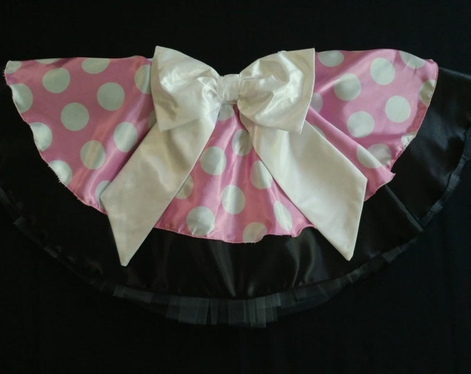 READY TO SHIP / Garden Party Cutie running tutu skirt inspired by Minnie Mouse