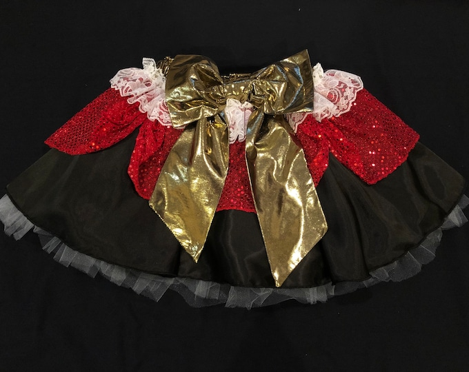 READY TO SHIP / By Hook Or By Crook Tutu Running Skirt Inspired by Disney's Captain Hook