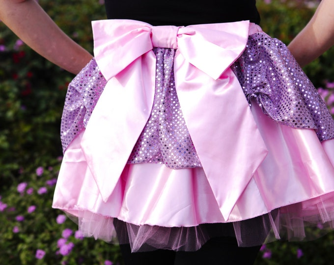 READY TO SHIP / Tumbling Tresses Princess Running Skirt