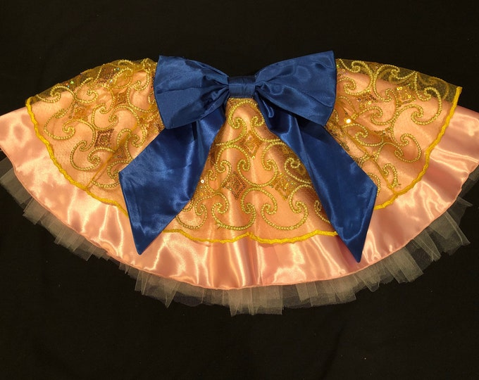 READY TO SHIP/ A Castle Celebration Running Tutu Skirt Inspired by the Disney Castles