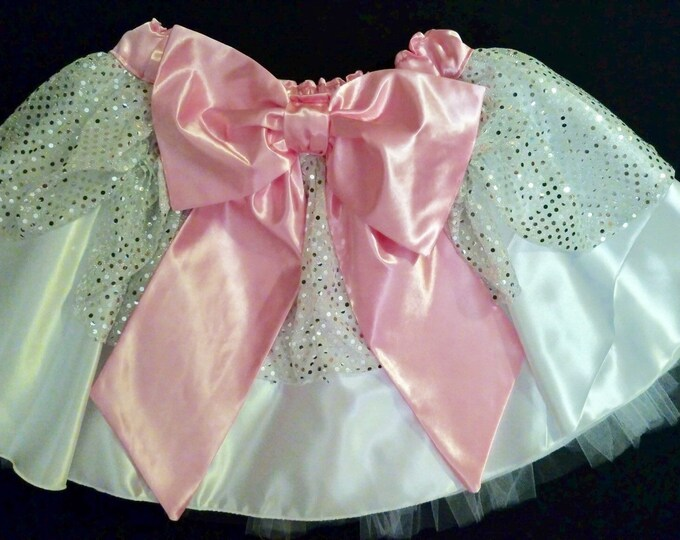 READY TO SHIP / Ladies Don't Start Fights running tutu skirt Inspired by The Aristocats Marie