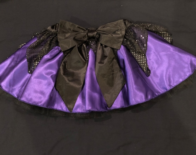 READY TO SHIP / Sea Witchery Tutu Running Skirt Inspired by Disney's Ursula
