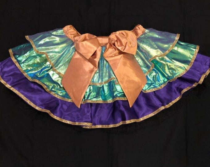 LIMITED PREORDER / Celebrate and Sparkle! Running Tutu Skirt inspired by WDW Magic Kingdom 50th Anniversary