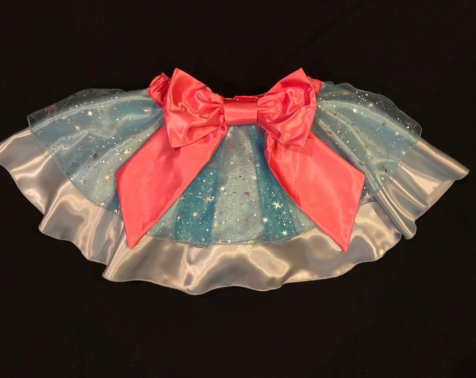 READY TO SHIP / Bippity Boppity Finish Line! Running Tutu Skirt inspired by Disney's Fairy Godmother