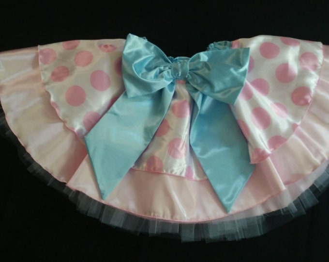READY TO SHIP /  Peep That Bow Running Tutu Skirt inspired by Disney Pixar's Toy Story