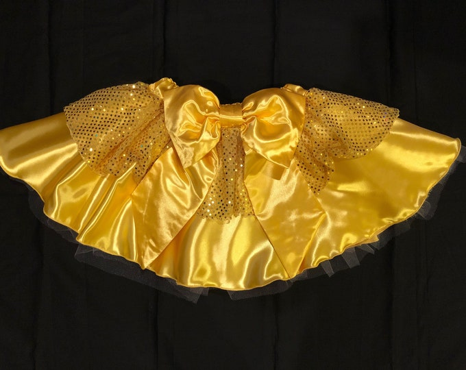 READY TO SHIP / Certain As the Sun Princess Running Tutu Skirt Inspired By Disney's Belle