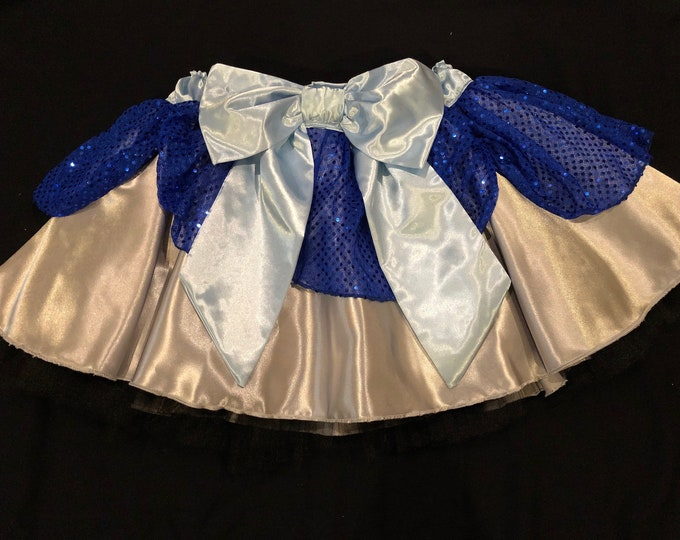 READY TO SHIP / Friends In Low Places Tutu Running Skirt Inspired By Disney's Hades