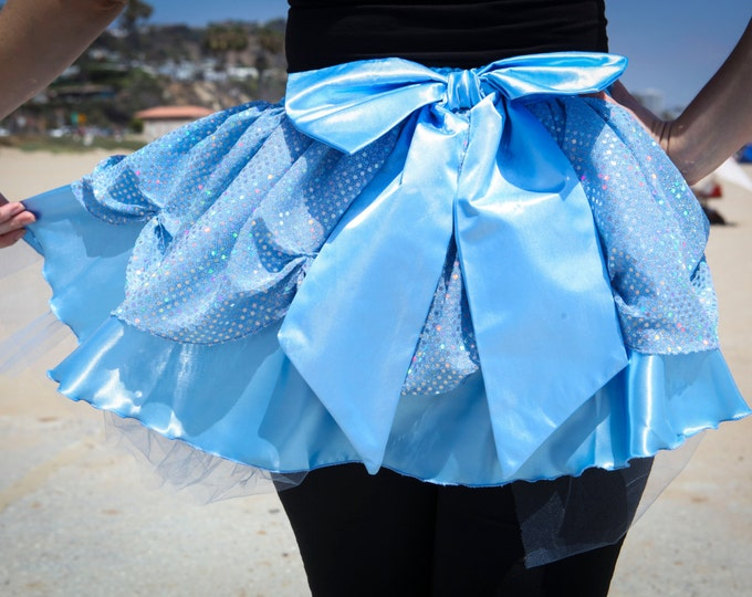 READY TO SHIP / Maybe Midnight Princess Running Skirt