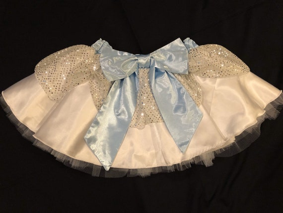 PREORDER / Queen of Cool Princess running tutu skirt inspired by Disney's Frozen 2