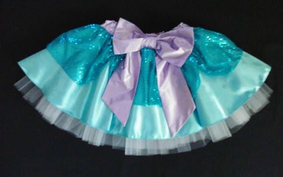 PREORDER / Sweet Yet Scary Womens Running Tutu Skirt Inspired by Monsters Inc's Sully