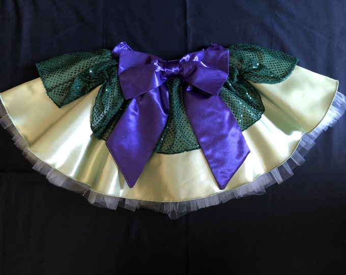 READY TO SHIP / The Next Right Queen Princess Running Tutu Skirt inspired by Frozen 2