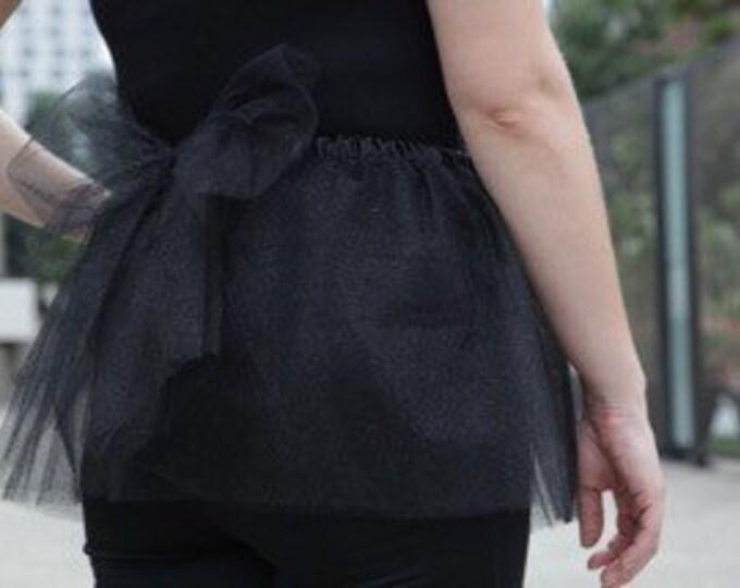 The Dark Side Glitter Princess Running Tutu Skirt