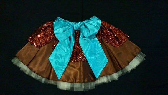 A Dream Is A Wish Princess running tutu skirt inspired by Cinderella