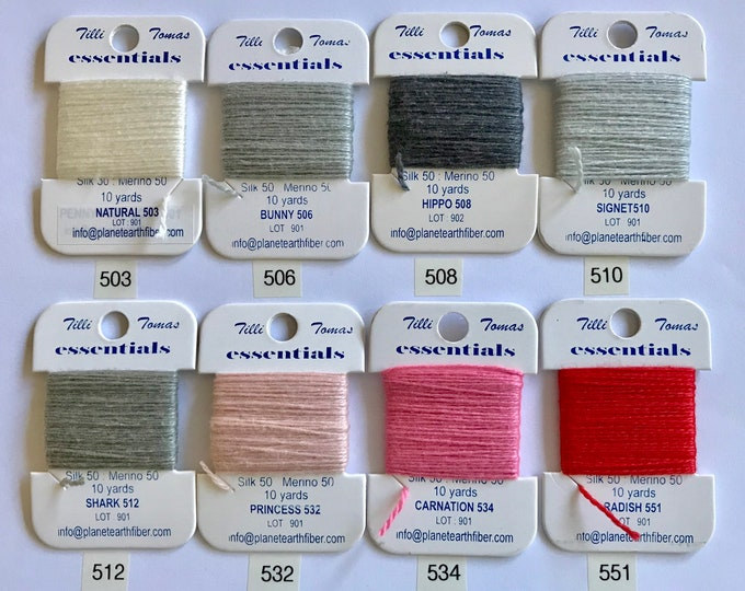 Essentials Threads Colors 503-551
