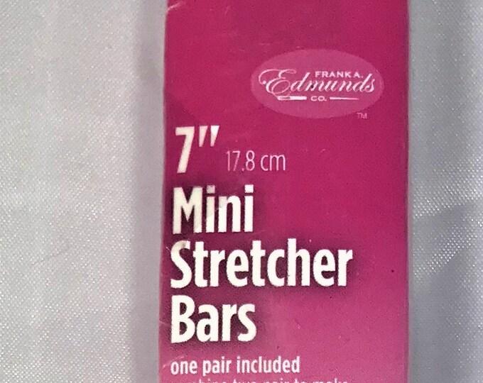 """Needlepoint Stretcher Bars - 7"""" Mini Stretcher Bars"""
