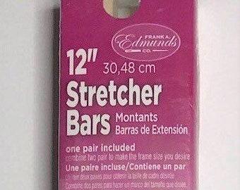 "Needlepoint Stretcher Bars - 12"" Standard Size Stretcher Bars 1 pair"