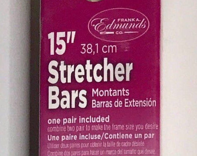 "Needlepoint Stretcher Bars - 15"" Standard Size Stretcher Bars 1 pair"