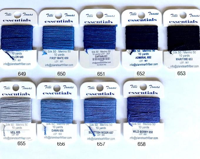 Essentials Threads Colors 649 - 658