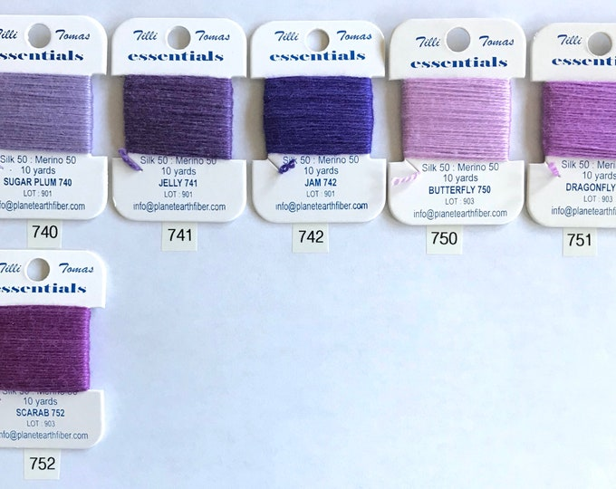 Essentials Threads Colors 740 - 752