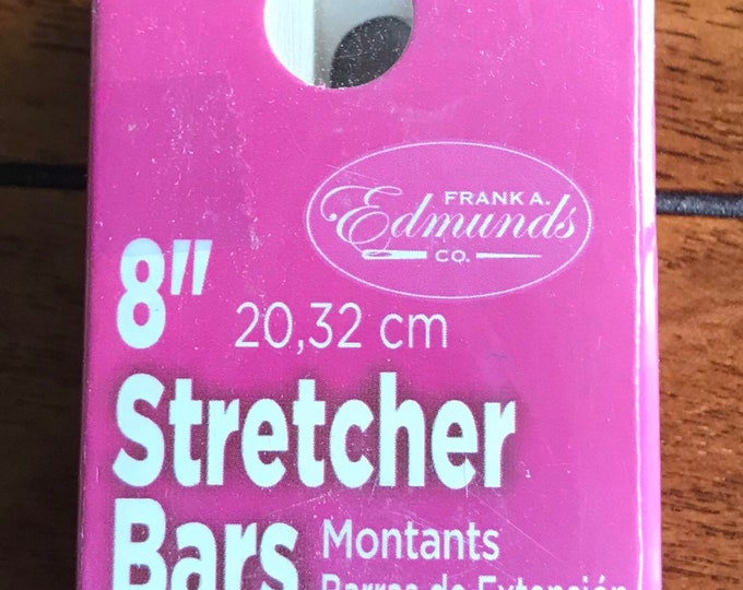 Needlepoint Stretcher Bars - 8 inch Standard Size Stretcher Bars 1 pair