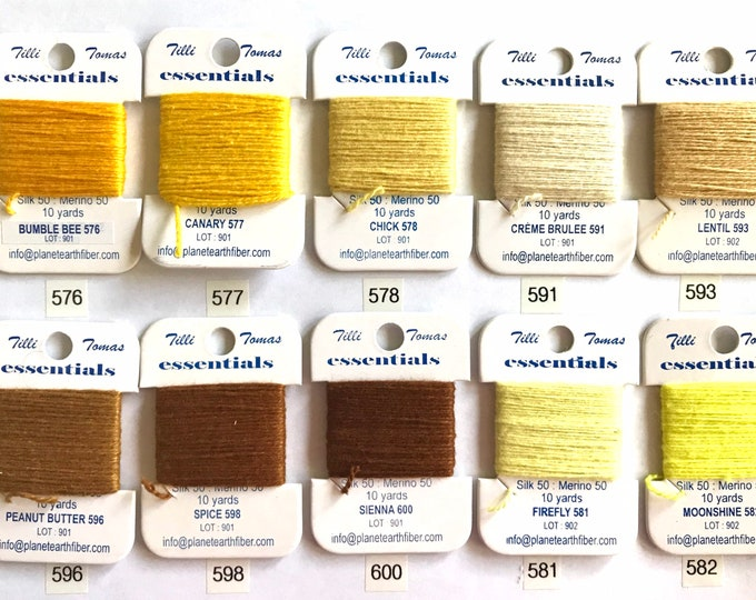 Essentials Threads Colors 576 - 600