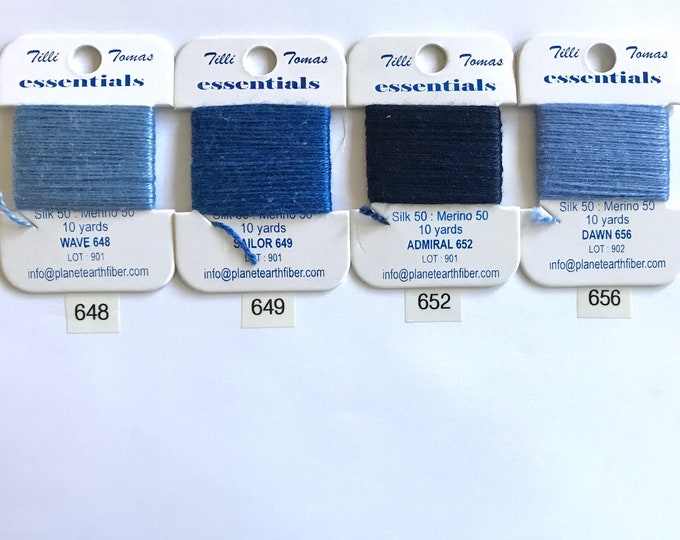 Essentials Threads Colors 641 - 664