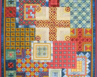Mediterranean Squares Needlepoint Basic Kit