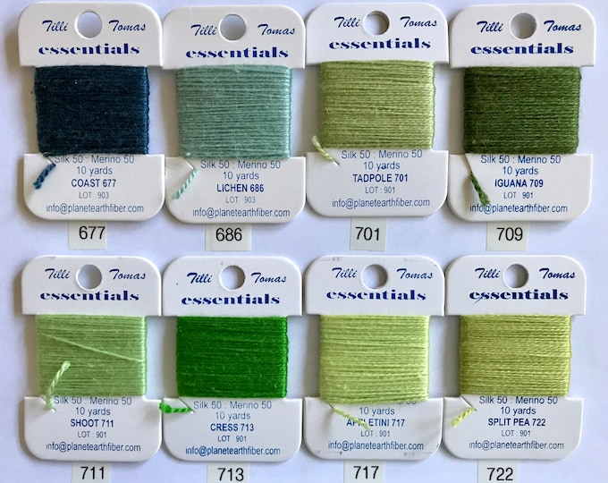 Essentials Threads Colors 677-722