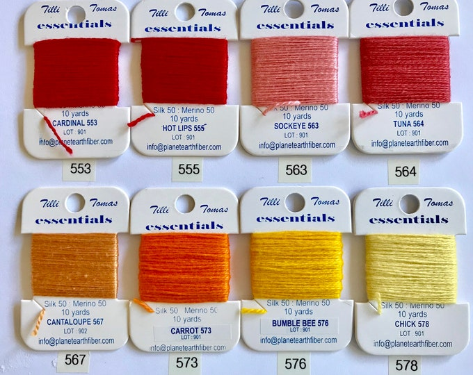 Essentials Threads Colors 553-576