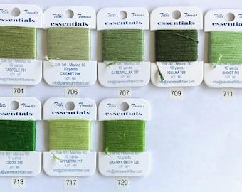 Essentials Thread Colors 701 - 720