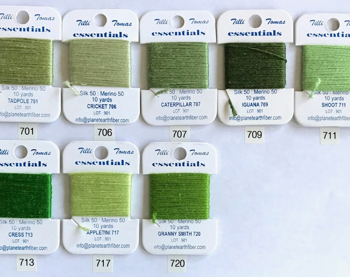 Essentials Thread Colors 701 - 720